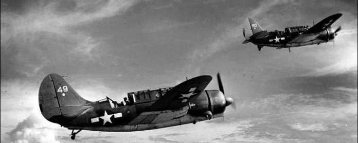 aviones americanos segunda guerra mundial pacifico