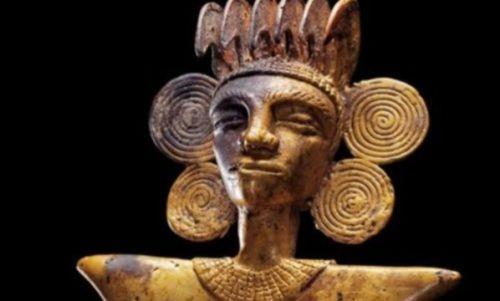 estatuilla oro encontrada en panama