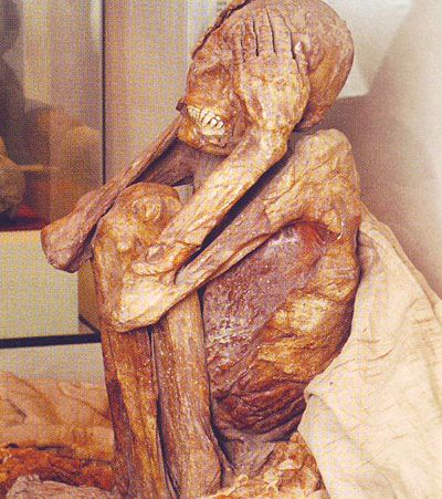 momia paracas posicion fetal