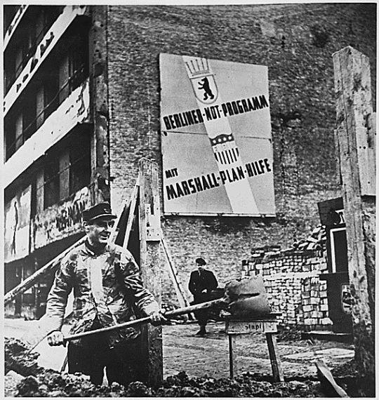 cartel plan marshall europa