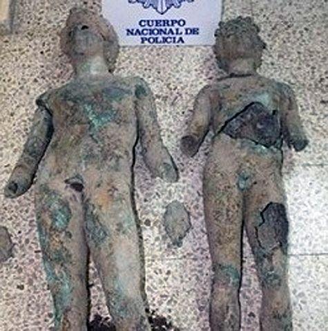 estatuas romanas pedro abad