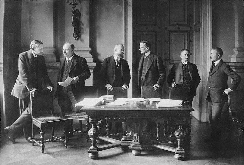 alemania tratado de versalles