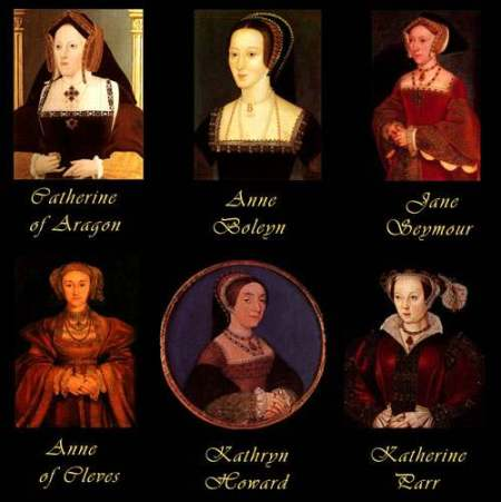 seis mujeres enrique viii
