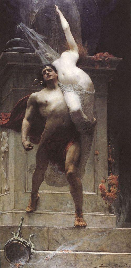 ajax captura casandra mitologia griega