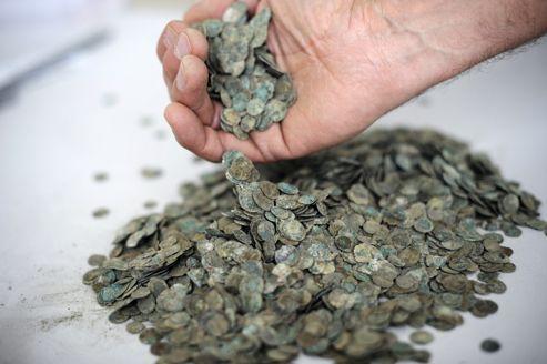 tesoro galo monedas romanas