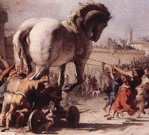 caballo de troya historia