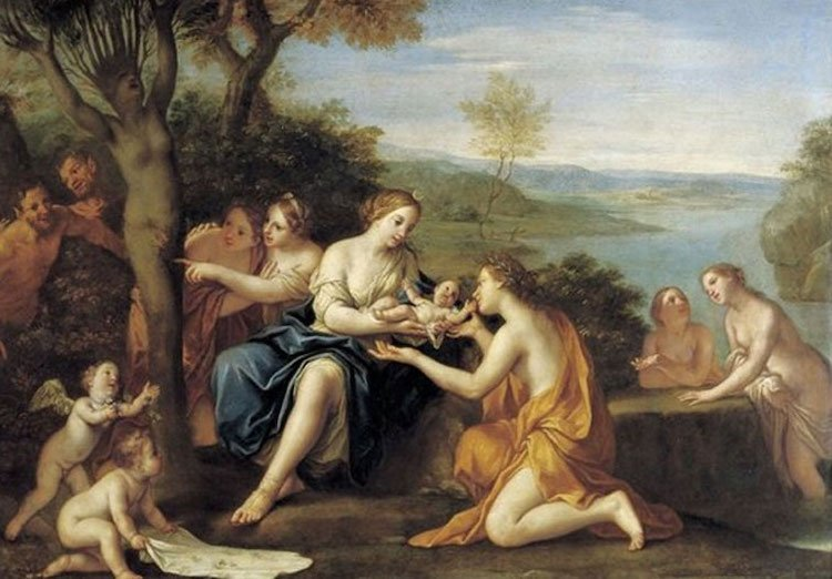 nacimiento de adonis