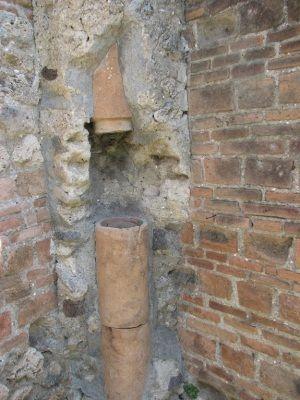 El descubrimiento permitió descubrir el uso de desagües en Pompeya.