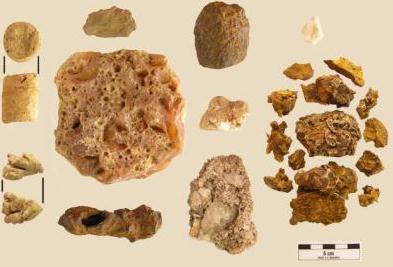 Piedras chamánicas encontradas en Panamá de aproximadamente 4.000 años de antigüedad.