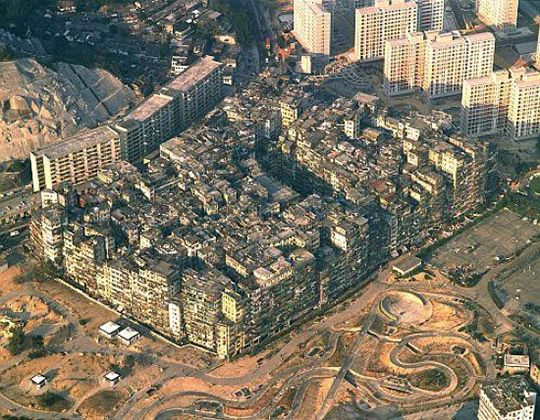 vista de kowloon desde el aire