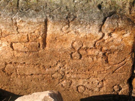 graffiti en afrodisias