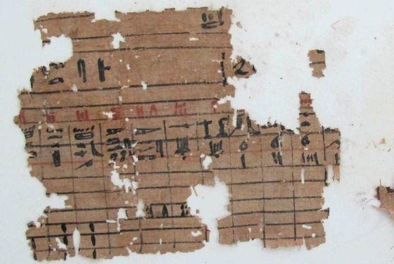 papiros mas antiguos egipto