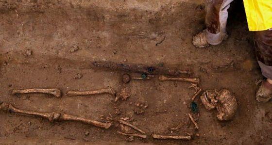 tumba guerreros galos 2300 años