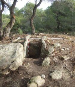 tumulo funerario iberico
