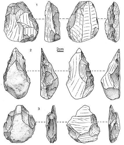 artefactos paleolitico china
