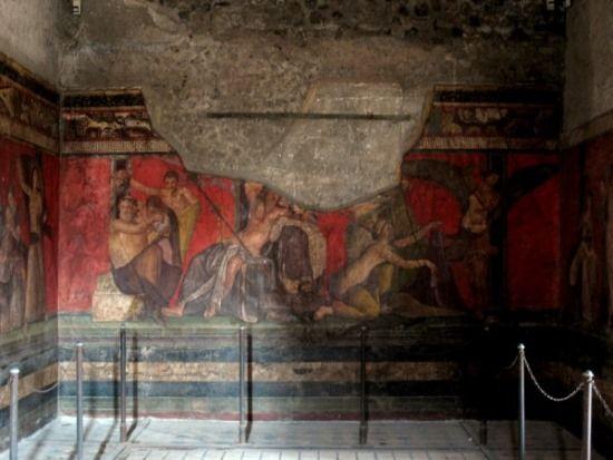 pinturas en pompeya