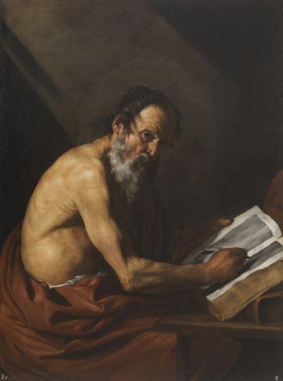 san jeronimo escribiendo