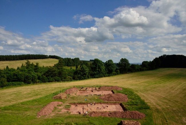 Excavación en Herefordshire