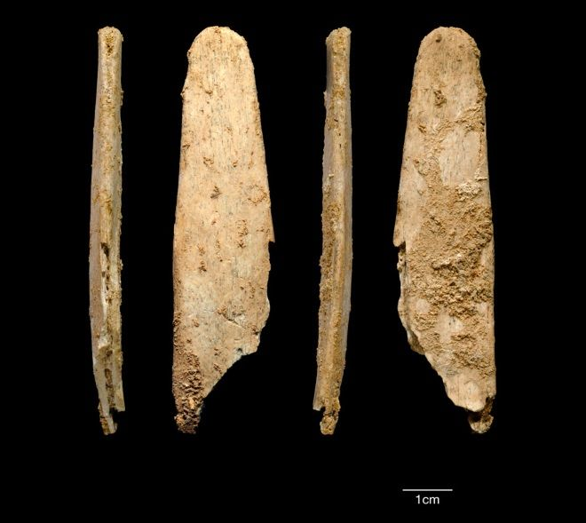 Herramientas de hueso neandertales