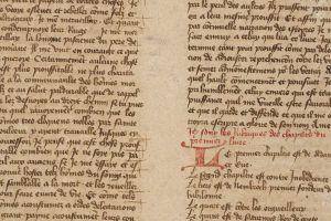 manuscrito medieval