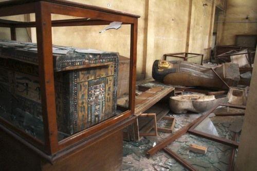 saqueo museo malawi egipto