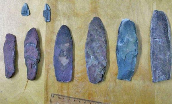 objetos 7000 años quebec
