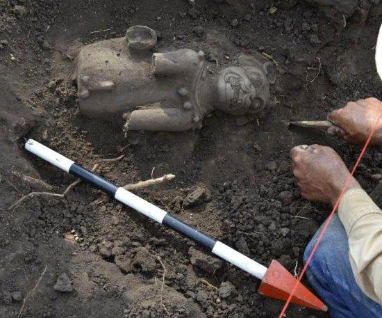 restos mayas parque el salvador