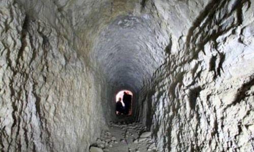 tunel en villa adriano