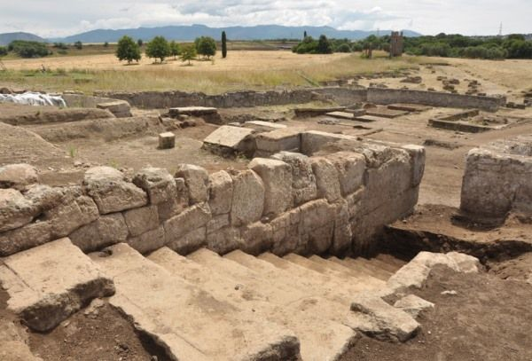 yacimiento gabii antigua roma