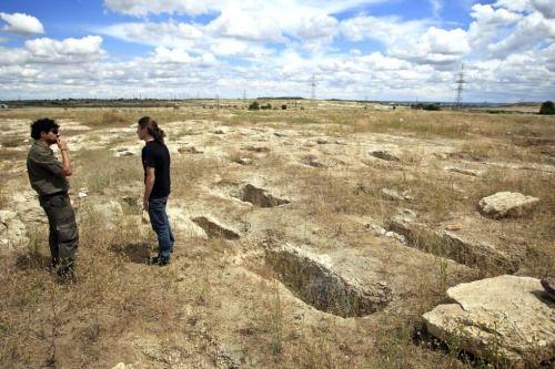 tumbas yacimiento vicalvaro