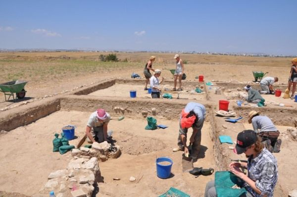 excavaciones en chipre