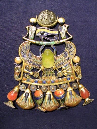 objetos tutankamon