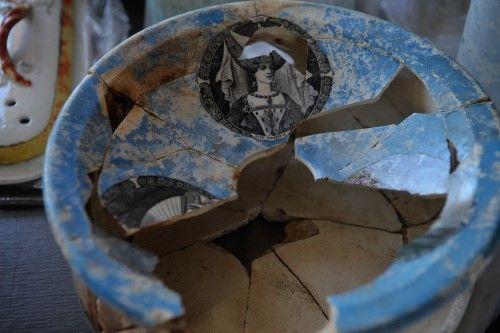 Cuenco de cerámica para pasta dental