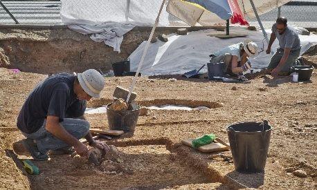 Excavación en Ayamonte (EFE)