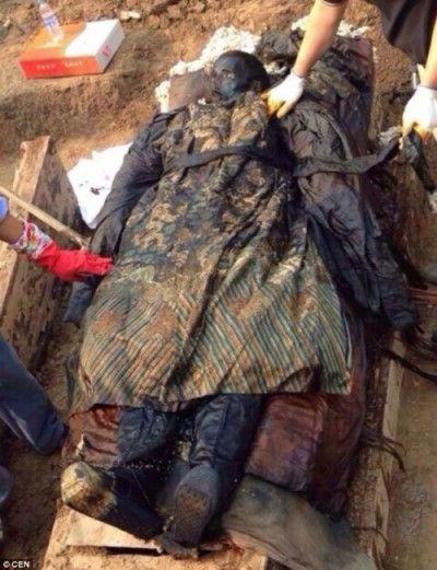 momia china