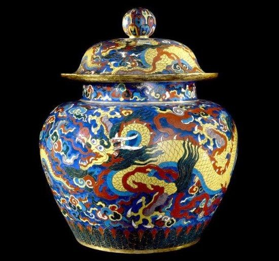 jarron chino dinastia ming