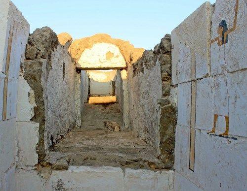 tumba del faraon senebkay