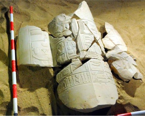 cartuchos visir amenhotep
