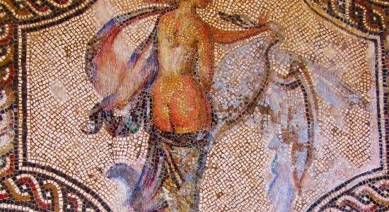 mosaico romano desnudo