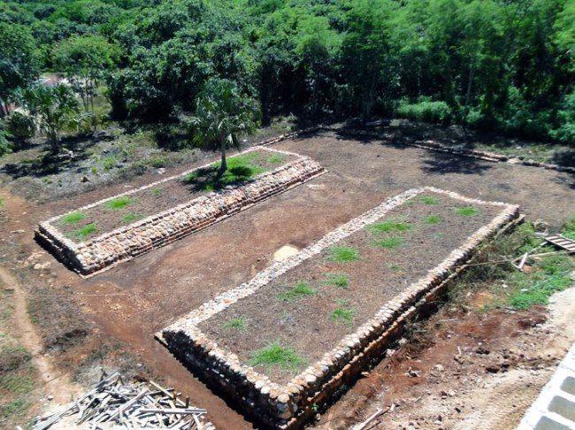 pista juego pelota maya
