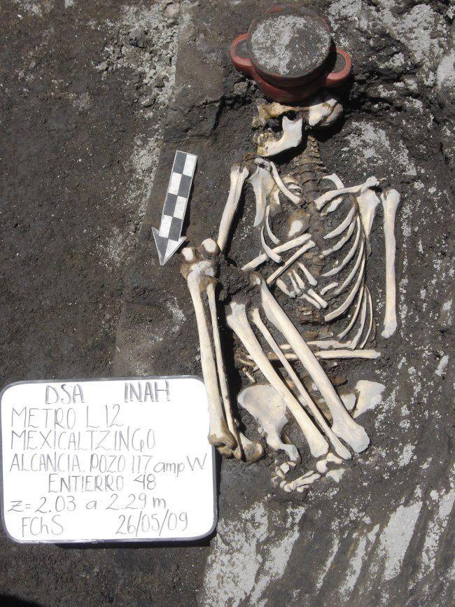 esqueleto ciudad de mexico