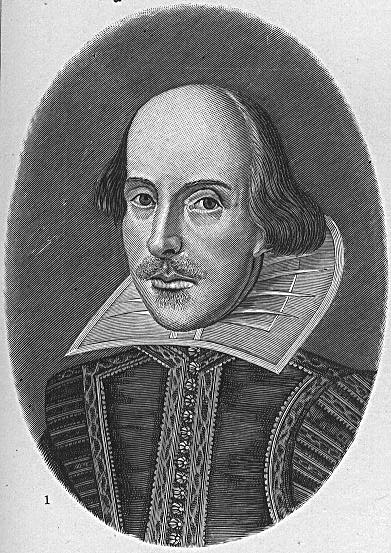 retrato shakespeare first folio