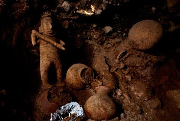 tumba antigua mexico