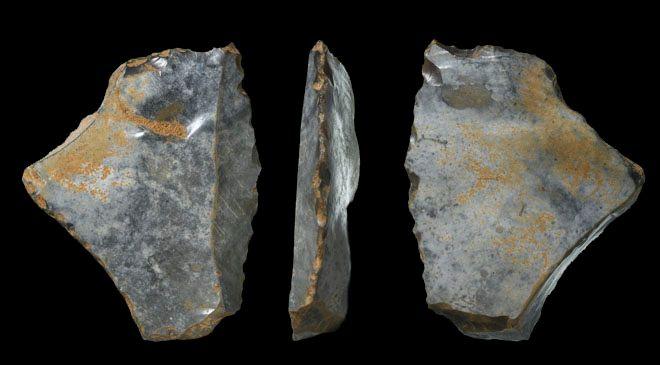 herramienta paleolitica londres