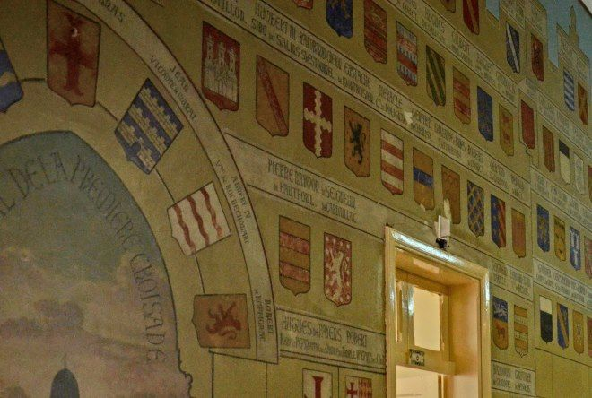 pinturas murales cruzados jerusalen