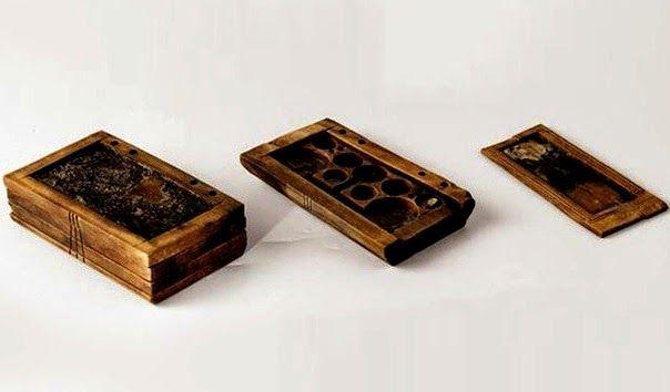 tablets madera antiguas