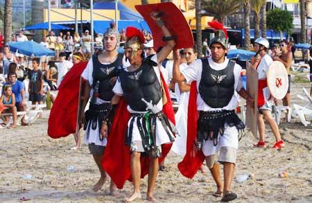 Fiesta Romanos i Cartagineses en Sant Antoni de Portmany