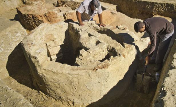 Trabajos arqueológicos en La Fontanilla de Palos.