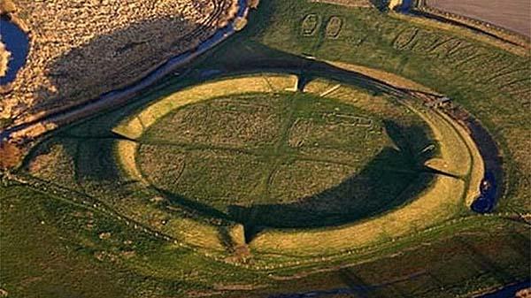 Fortaleza vikinga encontrada en Dinamarca. Crédito: ©Thue C. Leibrandt
