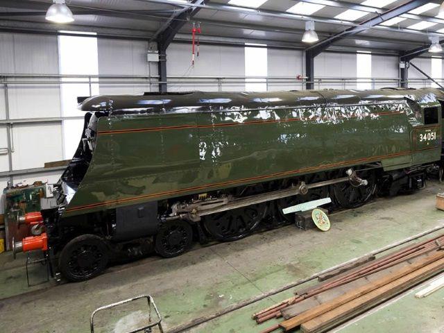Locomotora Winston Churchill